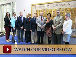 Foundation Donation to Shriners Hospital